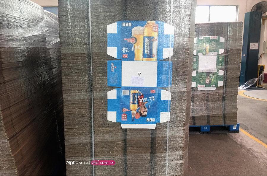 廣州纏繞機包裝行業案例